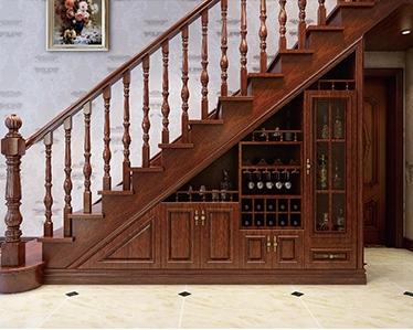 室內實木樓梯